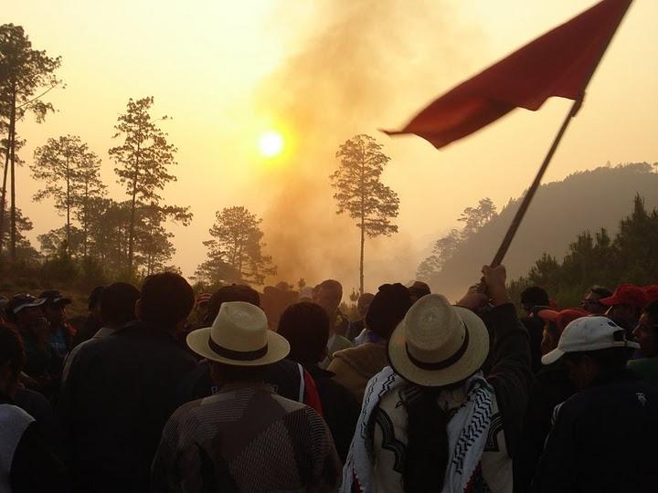 GUATEMALA: Exigen al gobierno detener desalojos en serie y órdenes de captura.