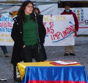 Concentración de repudio por el asesinato de Henry Ramírez