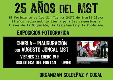 """Exposición """"25 años del MST"""""""