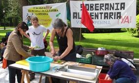 Día de la lucha campesina en Asturias