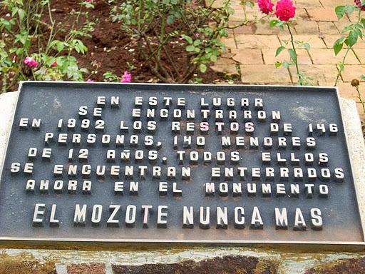 DOCUMENTO: La Masacre de El Mozote en El Salvador