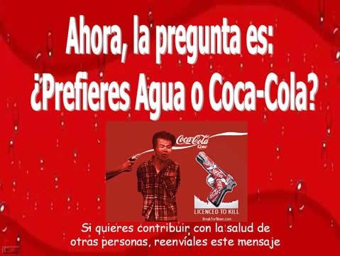 LOS ESPÚREOS NEGOCIOS DE LA  PARA–COCA-COLA