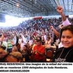 Concluye gran asamblea nacional del Frente de Resistencia de Honduras