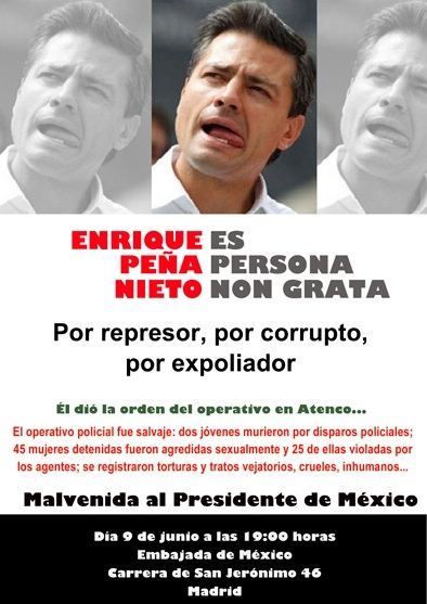 cartel_convocatoria_malvenida_presidente_de_mexico