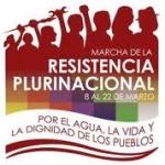 Marcha Plurinacional por el Agua, por la Vida y la Dignidad de los Pueblos del Ecuador
