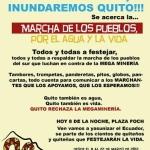 Ecuador: Marcha Nacional por la vida y la dignidad de los pueblos
