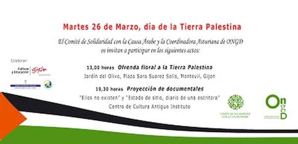 26 Marzo, Día de la tierra Palestina