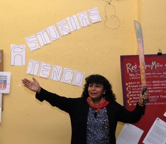 CHARLA-COLOQUIO MARTHA PÉREZ DEL FRENTE DE PUEBLOS. ATENCO. MÉXICO