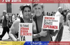 Charla con el embajador de Venezuela