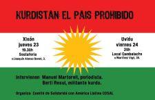 Charlas sobre Kurdistán: Manuel Martorell en Asturias