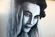 Mural homenaje a Ruth First en Nomzano Park, Soweto