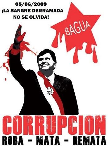 Alan García corrupto asesino