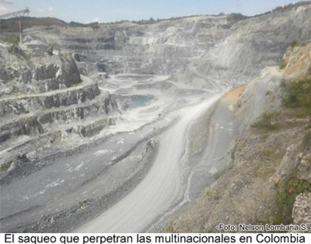 Colombia saqueo multinacionales
