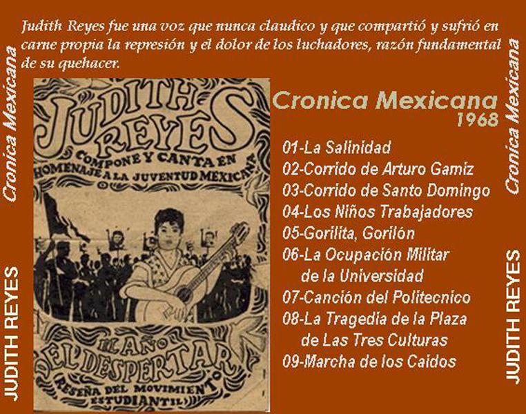 Cronica Mexicana contratapa
