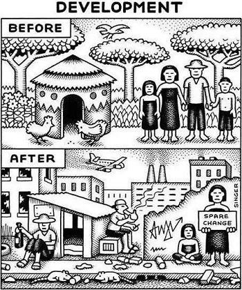Desarrollo, antes y después