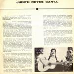 Judith Reyes - Canta - trasera