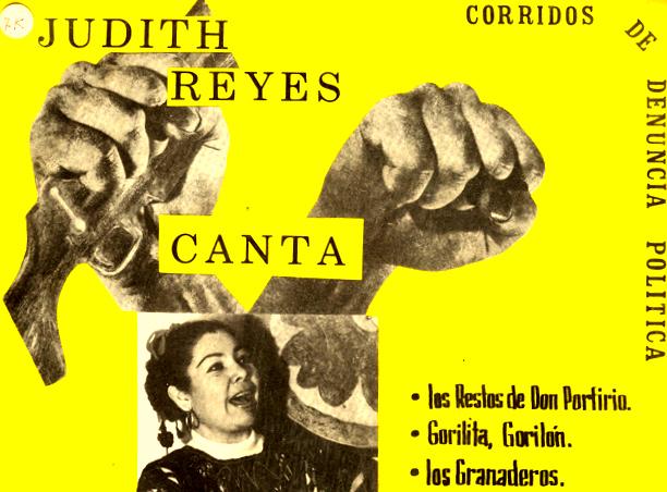 Judith Reyes canta
