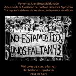 Miércoles 24 a les 19 en Llar El Mataderu (La Pola Siero)