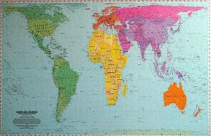 Mapa Mundi Peters