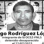 Denuncian desaparición forzada de integrante del FNLS en Chiapas