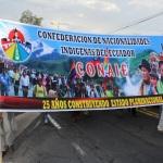 (Ecuador) Movimiento Indígena y Org. Sociales convocan Levantamiento y Paro Nacional Indefinido en agosto