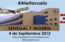 [ALERTA] Vuelo Deportación Senegal y Nigeria 4/9/2015