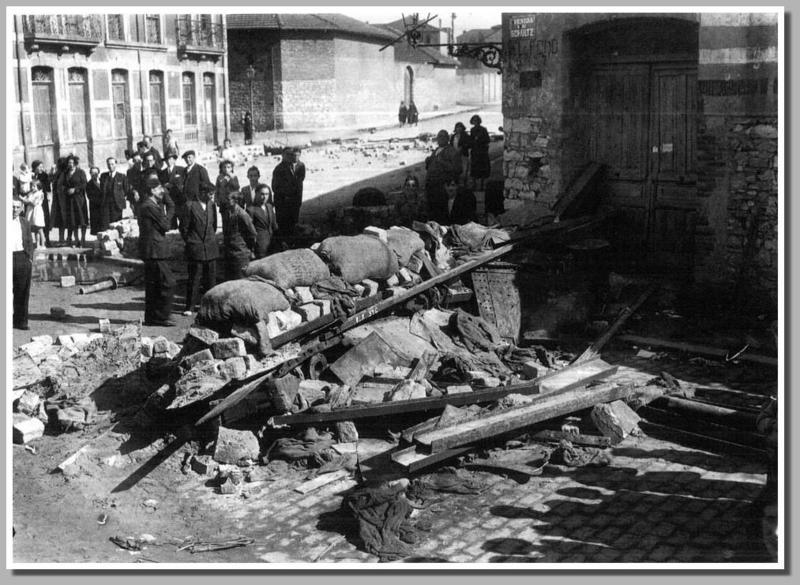 Barricadas en Xixón