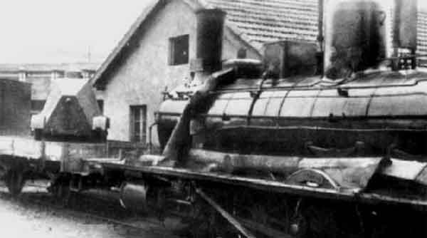 Tren blindado por los obreros revolucionarios