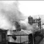 Arde la Universidad de Oviedo