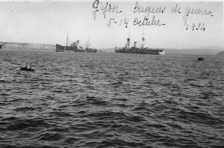 Los buques Almirante Cervera y Jaime I. Con sus potentes cañones bombardearon a placer