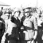 Teniente Coronel Yagüe, el carniceru d'Asturies. Comandó las tropas moras (dos tabores de Regulares). Con sangre asturiana cobró los galones de General