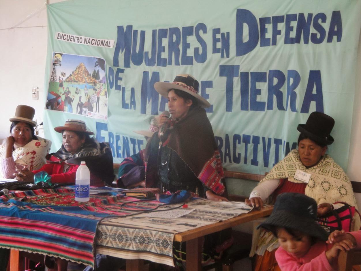 PRONUNCIAMIENTO ENCUENTRO DE MUJERES EN DEFENSA DE LA MADRE TIERRA