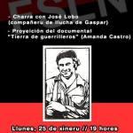 Gaspar García Laviana ensin escaezu. Pepín Lobo charra so'l Comandante Martín