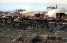 La guerra contra el PKK en Turquía destruye la histórica ciudad de Diyarbakir
