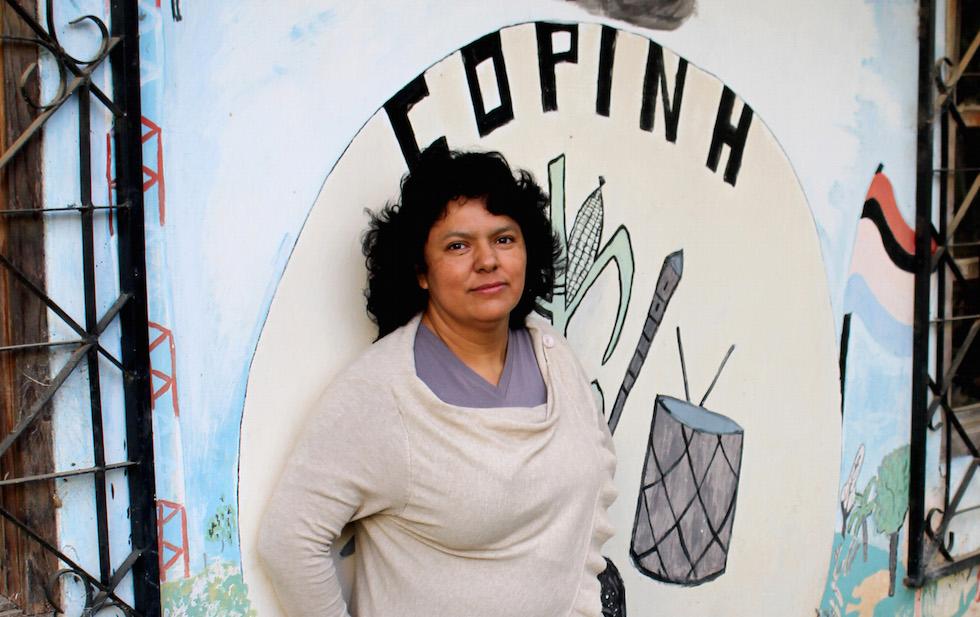 Berta Caceres 2015