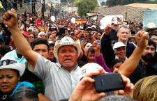 Miles de personas acompañan el funeral de Berta Cáceres