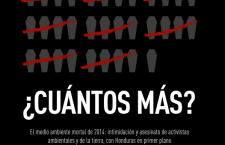 ¿CUÁNTOS MÁS? Informe de Global Witness sobre los asesinatos de defensores del medio ambiente
