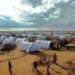 Un lugar de abusos, brutalidad, hambre y miedo. Campo de refugiados somalíes de Daadab, en 2011. Fotografía Tony Karumba, AFP Getty Images