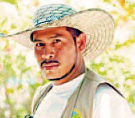 Wlliam Castillo, uno de los fundadores de la organización campesina Aheramigua, de la Asociación de Hermandades Agroecológicas y mineras de Guamocó