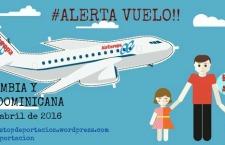 [Alerta] Vuelo de deportación a Colombia y República Dominicana 27/04/2016