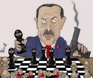 Erdogan-ISIS-Kurds