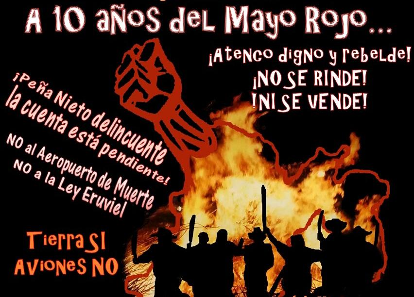 Mayo Rojo 10 años