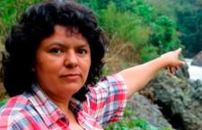 Berta Cáceres figuraba en una lista de 'objetivos a eliminar' del ejército hondureño