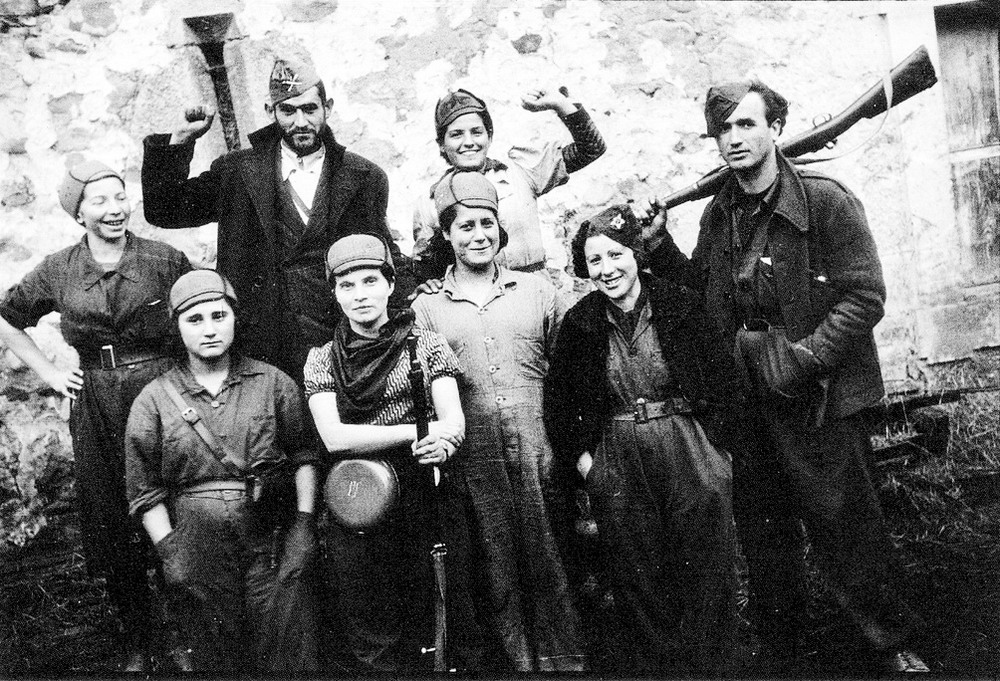 Milicianas asturianas