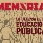 Revista Memoria 259, 2016-3. En defensa de la educación pública