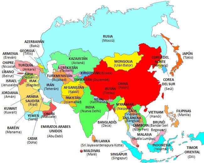 mapa-asia-paisesycapitales