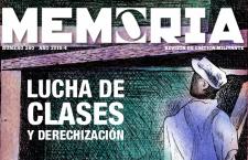 Revista Memoria n° 260. Lucha de clases y derechización